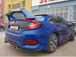 HONDA CİVİC FC5 TURBO ARKA TAMPON EKİ